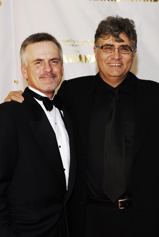 Annie_Awards_Rob_paulsen_and_maurice_lamarche