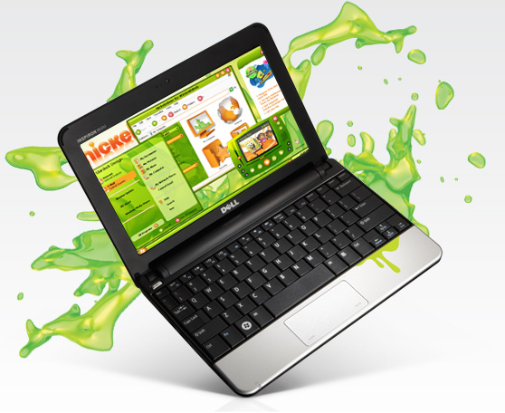 NIckelodeon Dell netbook