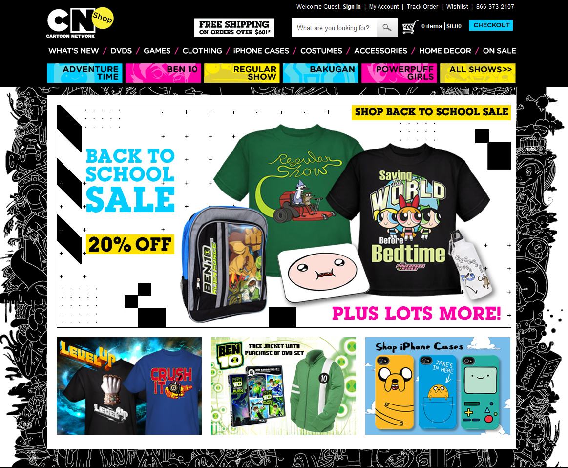 Cartoon Network Shop