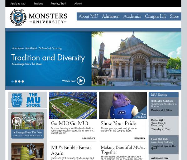 MU website