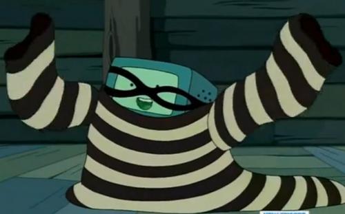 BMO burglar