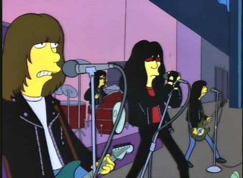 Ramones_Simpsons